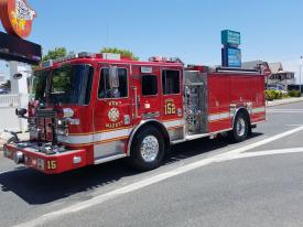 Fire Engines – 1500 GPM and Over:  Second Best Appearance was awarded to New Market District Volunteer Fire Company – Engine 152