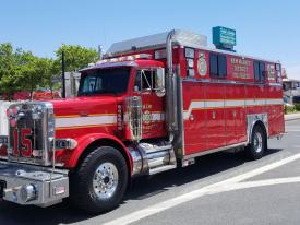 Squad Truck Making the Best Appearance – Second Best Appearance was awarded to New Market District Volunteer Fire Company – Rescue Squad 15