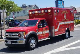 Ambulance Making Best Appearance - Second Best Appearance was awarded to New Market District Volunteer Fire Company – Ambulance 159