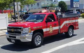 Brush Truck Making the Best Appearance – Third Best Appearance was awarded to New Market District Volunteer Fire Company – Brush 156